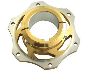 Gold 50mm Brake Disc Carrier