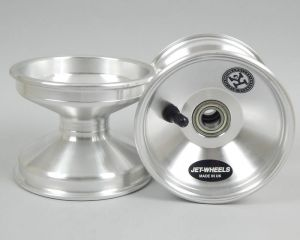 Jet Silver Front Wheel 100mm Central